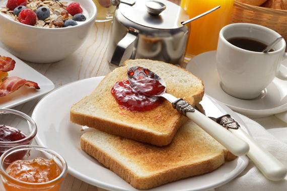 Frühstück im Haus Erika