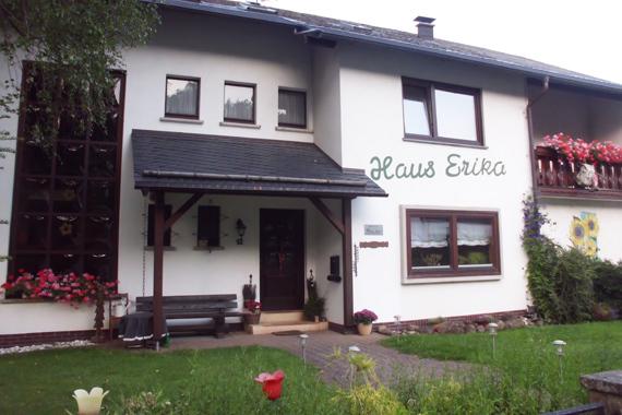 Hausansicht Haus Erika